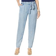 Billy T Coastal Blooms Tie-Waist Pant