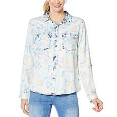 Billy T Geometrics Printed Button Up Shirt