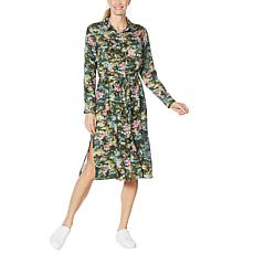 Billy T Happy Camo 2-Way Utility Shirtdress