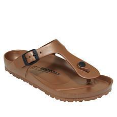 Birkenstock Gizeh Essentials EVA Metallic Thong Sandal