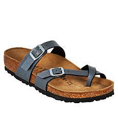 Birkenstock Mayari Icy Metallic Toe-Loop Sandal