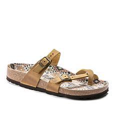 Birkenstock Mayari Leather Toe-Loop Sandal