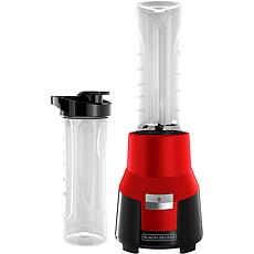 Black & Decker FusionBlade Personal Blender, Red