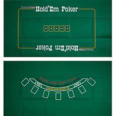 Blackjack and Texas Hold'Em 2-Sided Layout