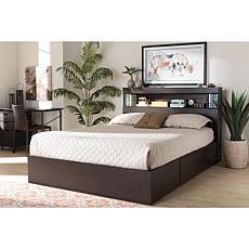 Blaine Queen Size 6-Drawer Platform Storage Bed