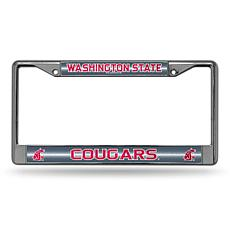 Bling License Plate Frame - Washington State University