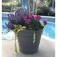 Bloem 7-Gallon Rolled Rim Planter - 16-3/4""