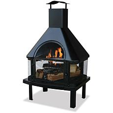 Blue Rhino Uniflame Outdor Fireplace with Chimney