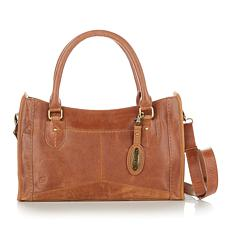 Born® Distressed Eva Leather Satchel