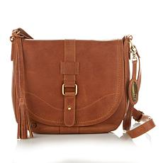 Born® Distressed Leather Saddle Bag