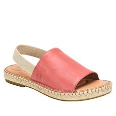 Born® San Isabel Leather Espadrille Sandal
