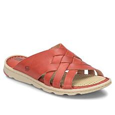 Born® Tarpon Woven Leather Slide Sandal
