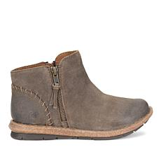 Born® Tavar Suede Double-Zip Bootie