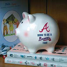 Born to be an Atlanta Braves Fan Piggy Bank