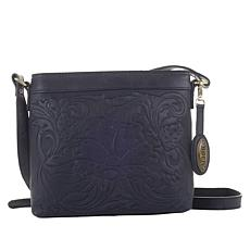 Born Tooled Leather Crossbody