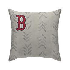 "Boston Redsox 18""X18"" Duck Cloth  Décor Pillow"