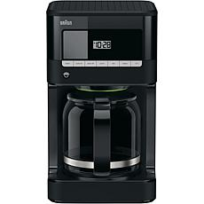 Braun BrewSense 12-Cup Drip Coffee Maker in Black