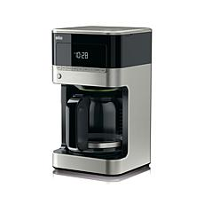 Braun BrewSense 12-cup Drip Coffee Maker - Stainless