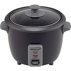 Brentwood 4-Cup Rice Cooker/Food Steamer