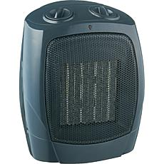 Brentwood Appliances H-C1601 Ceramic Space Heater and Fan - Black