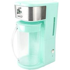 Brentwood Iced Tea and Coffee Maker with 64-oz. Pitcher - Blue