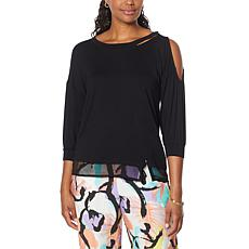 Brittany Humble Cold-Shoulder Tunic