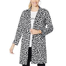 Brittany Humble Jacquard Coat