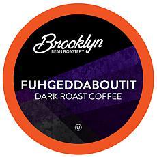 Brooklyn Beans Fuhgeddaboutit Dark Roast Coffee Pods for 2.0 Keurig...