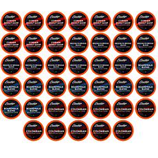 Brooklyn Beans Med Roast Variety Pack Coffee Pods for 2.0 K-Cup, 40-pk