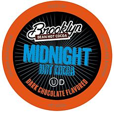 Brooklyn Beans Midnight Dark Choc. Hot Cocoa Pods for Keurig, 40-Count