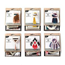 Bucilla Weave It and Leave It 6-pack Weaving Kit