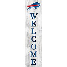 "Buffalo Bills 48"" Welcome Leaner"