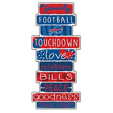 "Buffalo Bills Celebrations Stack 24"" Sign"