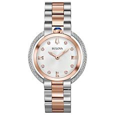 Bulova Women's Rubaiyat Diamond 2-Tone Stainless Steel Bracelet Watch