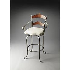 Butler Specialty Amberton Metal and Wood Bar Stool