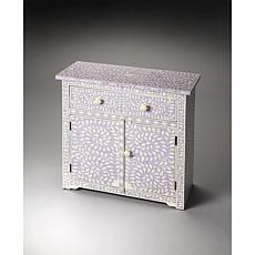 Butler Vivienne Bone Inlay Console Chest - Lavender