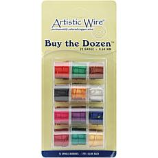 Buy The Dozen Colored Copper Wire - 22 Gauge