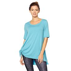 Bzees Active Ethel Flared-Hem Tunic with SPF 40