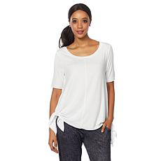 Bzees Ethel Flared-Hem Tunic with SPF 40