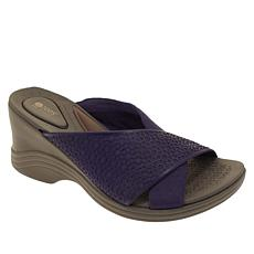 Bzees Harmony X-Band Wedge Sandal