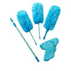 Campanelli 6-piece Microfiber Duster Kit