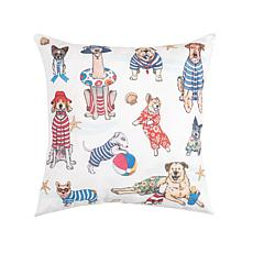 C&F Home Beach Dogs Pillow