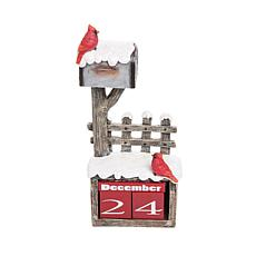 C&F Home Cardinal Mailbox Calendar