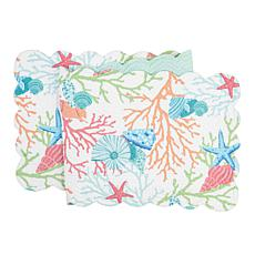 C&F Home Caribbean Splash Table Runner
