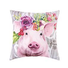 C&F Home Garden Story Pig Pillow
