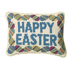 C&F Home Happy Easter Needlepoint Pillow