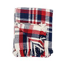 C&F Home Harbor Plaid Throw
