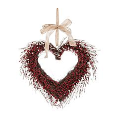 C&F Home Heart Wreath