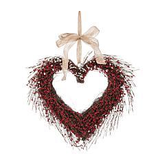 C&F Home Heart Wreath