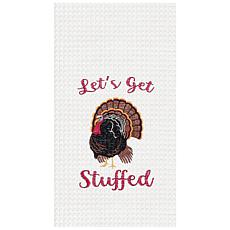 C&F Home Let's Get Stuffed Towel Set of 2